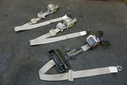 Set Of 3 Rear Left Right Center Seat Belt Retractor Oem Nissan Titan And Xd 16-19