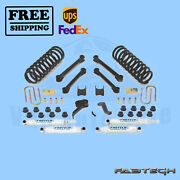 4.5 Performance Syst W/ Shocks Fabtech For Dodge 3500 4wd Diesel Only 09-13