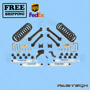 4.5 Performance Syst W/ Shocks Fabtech For 09-13 Ram 2500 4wd Diesel Only