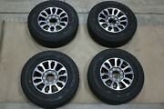 Oem Factory Take Off 17-21 Ford Super Duty Wheels Rim Tire Package 18x8+40