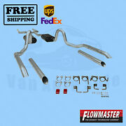 Exhaust System Kit Flowmaster For Buick Gs 455 70-72