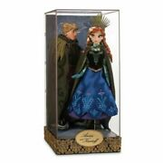 New Disney Fairytale Designer Collection Frozen Anna And Kristoff Doll Set Le 6000
