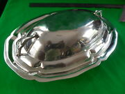 Sanborns Sterling Silver Covered Serving Dish 673g Mexico 10.5 X 7.125