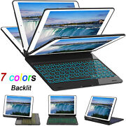 For Ipad 8th 7th Gen 10.2 Air 10.5 2020 Keyboard Flip Case Cover With Pen Slot