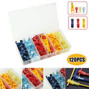 120pc Heat Shrink Wire Stripper Connectors Nylon Marine Electrical Terminal Ring