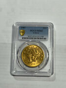 1907 20 Liberty Head Gold Coin Ms62