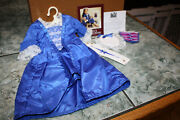 American Girl Pleasant Company Felicity's Christmas Gown And Stomacher Nib
