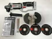 Porter-cable Pcc761b 20v Max Cordless 8 Piece Cut Off Grinder Bare Tool New