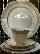 Lenox China Charleston Pattern Setting For 6 - Total Of 30 Pieces Mint Condition