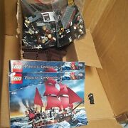 Lego Pirates Of The Caribbean Queen Anne's Revenge 4195, 98 Complete W/manual.