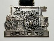 1924 Case Tractor 65 A Farm Classic Real Leather Tagvintage Pocket Watch Fob