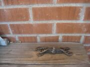 1920s Antique Wizard Rare Western Auto Nut And Tap Wrench Set 5 Wrenches Usa