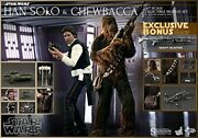 Han Solo And Chewbacca Sixth Scale Figure Set By Hot Toys
