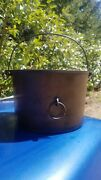 Antique 7 Erie Cast Iron Flat Bottom Kettle - Old Griswold Cast Iron Cookware
