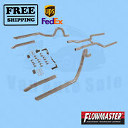 Pipe System Kit Flowmaster For Buick Gs 455 1970-1972