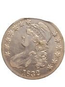 1832 Capped Bust Half Dollar Really Gorgeous Coin Must Have For The Collector