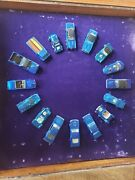 1968all Bluecomplete Set Of Thesweet 16redlinehot Wheelsloosecollectible