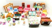 Fisher Price Loving Family Twin Time Dollhouse Furniture And Accessories Lot