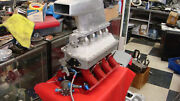Custom Ford 429 460 Tunnel Ram With Fuel Injection And Scoop Race Car Drag