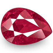Igi Certified Burma Ruby 1.04 Cts Natural Untreated Rich Intense Pinkish Red