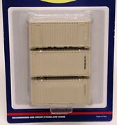 Athearn 20and039 Containers - U.s. Military - Half Case Lot
