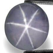 Sri Lanka Fancy Star Sapphire 8.36 Cts Natural Untreated Soft Violet Oval