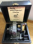 Harig Grind All No. 1 And Duo-form W/v-block And Thru Handle Pin Stop Case.