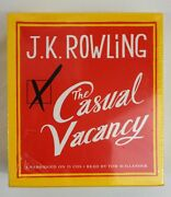 New Sealed The Casual Vacancy By J.k.rowling Unabridged 15 Cd Audio Book