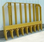 Pv491 8and039 Root Rake With Mounting Brackets And Pins Fits Dozer