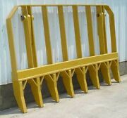 Pv490 7and039 Root Rake With Mounting Brackets And Pins Fits Dozer