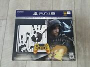 Playstation 4 Ps4 Pro 1tb Limited Edition Console - Death Stranding Bundle