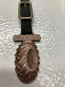 Vintage Antique Pocket Watch Fob Good Year Tractor Tire - Very Rare
