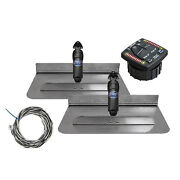 Bennett Complete Kit Bolt Electric Trim Tab With Integrated Helm Control, 24x12