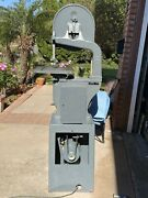 Rockwell Model 14 Woodworking Vertical Band Saw Made In Usa