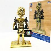 Stephen Curry Golden State Warriors 2x Mvp Special Ed Nba All-gold Bobblehead