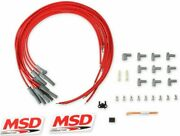Msd 31189 Spark Plug Wires Spiral Core 8.5mm Multi-angle Boots Universal V8 Set