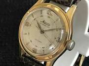 Mineruva 3 Hnads Antimagnetique Cal.49 Vintage Watch 1950and039s
