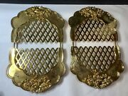 Royal Doulton Old Country Roses Gold/silver Collection Expandable Gold Trivet