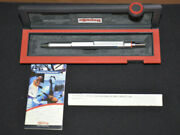 Rotring 600 Trio Pen, Silver, Stamped Japan
