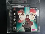 Arc The Lad Collection Sony Playstation 1, 2002 New Graded Vga 80+ Nm