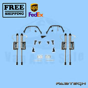 6 Multiple Front Shock Sys W/ Resi Shocks Fabtech For Ford F350 4wd 11-16