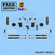 5 Basic System W/coil Springs And Stealth Shocks Fabtech For 2013-17 Ram 3500 4wd