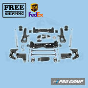 Pro Comp Lift Kit 6 W/spacer And Pro Runner Shocks 14-18 Ram 1500 3.0l Diesel 4wd