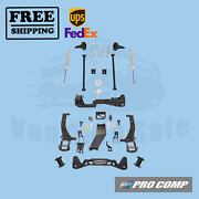 Pro Comp Lift Kit 6 W/front Spacers And Rear Es Shocks For Ford F-150 2015-18 4wd