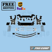 Procomp Lift Kit 4 W/front Strut Spacers/rear Es Shocks For Toyota Tundra 07-19