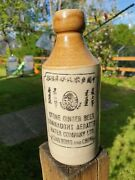 Connaught Aerated Water Company Hong Kong And China Ginger Beer Stoneware Bottle