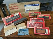 Lionel Milwaukee Road Service Station F3 Special Complete Set
