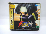 Saturn Spiel-the King Of Fighters 95+ Backup Ram Boxed Ntsc-jp Import