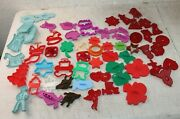 59 Vintage Plastic Cookie Cutters Hrm Tupperware Stanley Home Allstar Betty Lion