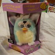 Vintage Special Limited Edition Electronic Furby 70-880 Teal And Yellow Nib